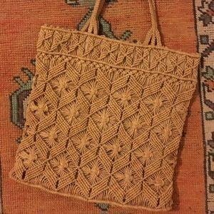Handbags - Woven straw purse